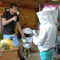 Ouverture de la ruche
